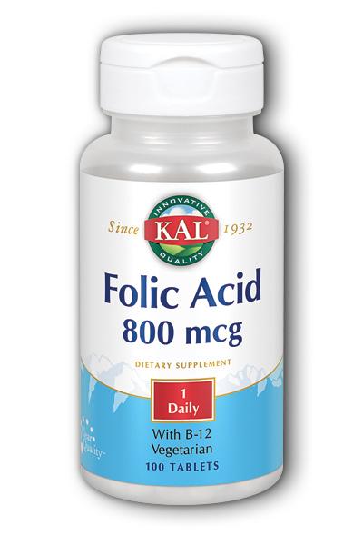 Folic Acid+ B12 Code 68552
