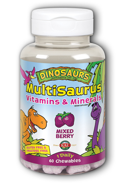 MultiSaurus Mixed Berry dječji multivitamini